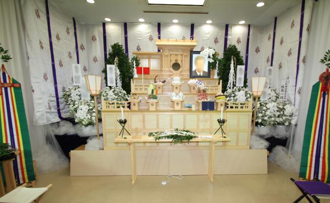 神道祭壇正面